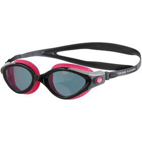 speedo Futura Biofuse Flexiseal Goggles Women, ecstatic pink/black/smoke